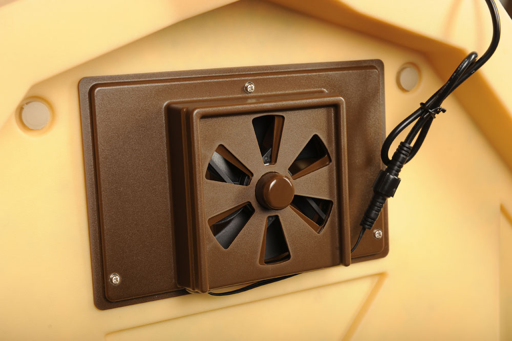 Doghouse Exhaust Fans Insulated Doghouses By Asl
