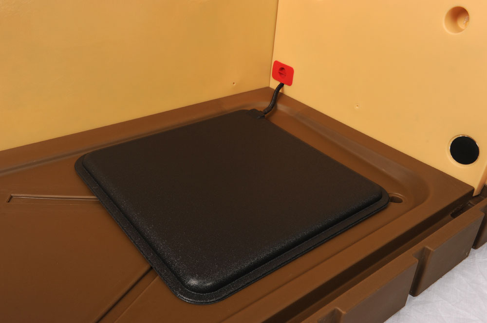 Doghouse Floor Mat Heaters Insulated Doghouses By Asl Solutions Inc
