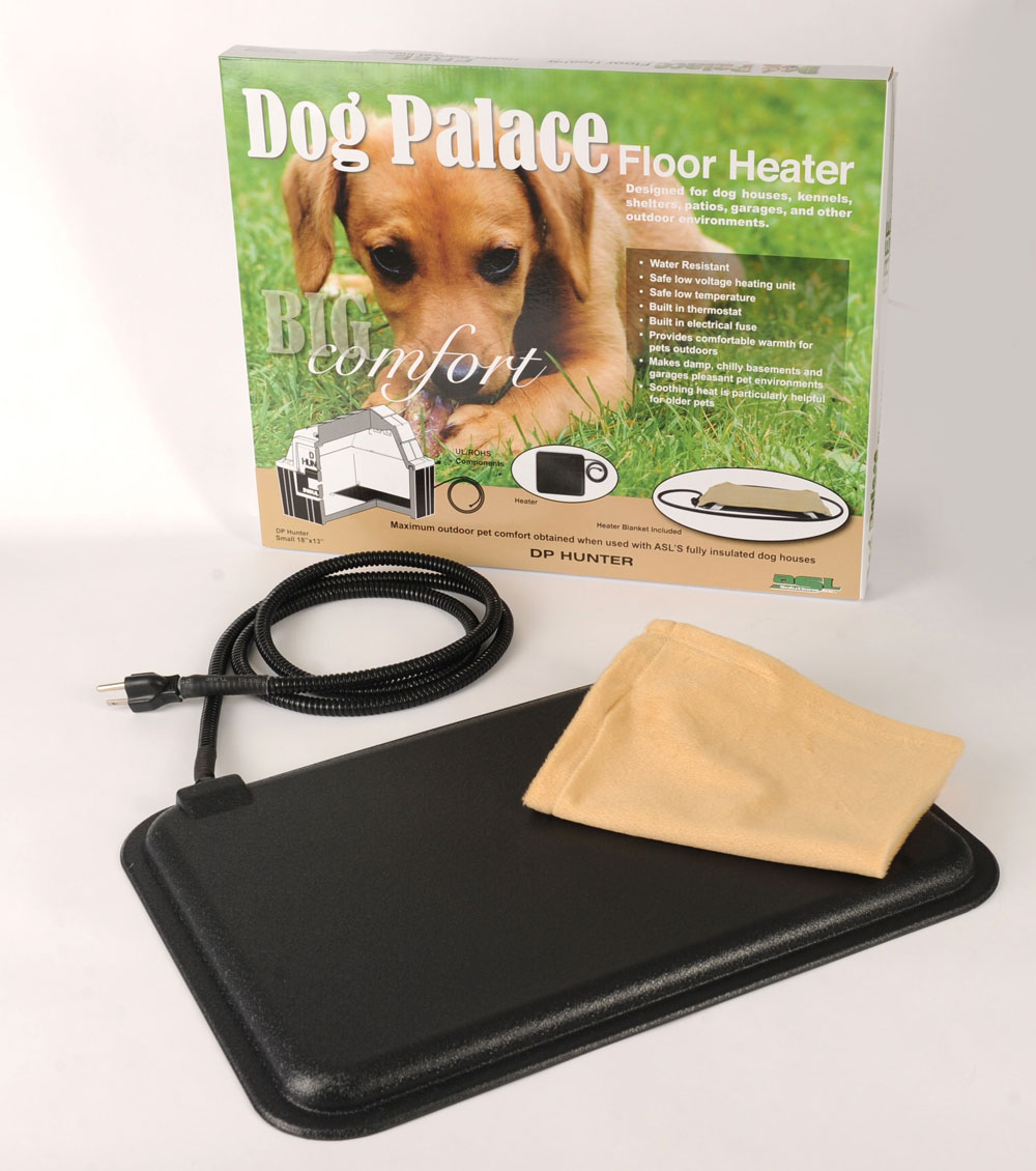 Doghouse Floor Mat Heaters Insulated Doghouses Asl