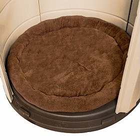 Insulated Doghouse Fleece Bed
